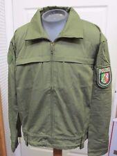 Unissued NOS German Police Polizei Combat Jacket Coat Lightweight OD Green 2X