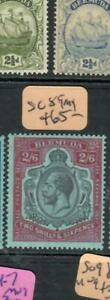 BERMUDA  (PP2507B) KGV KEYPLATE 2/6    SG 89    MOG