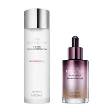 [ MISSHA ] Time Revolution The First Treatment Essence Rx & Night Repair Ampoule