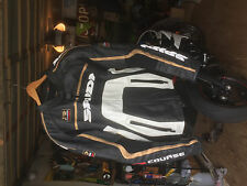 Spidi R-Corse leather motorcycle jacket size 46
