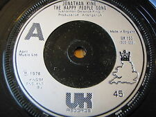 "JONATHAN KING - THE HAPPY PEOPLE SONG   7"" VINYL"