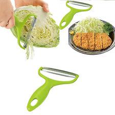 EP_ Vegetable Peeler Cabbage Grater Potato Slicer Cutter Fruit Knife Salad