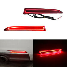 For 2016-2020 Chevy Camaro Rear Bumper Reflector Brake Tail Lights LED Lamps Kit