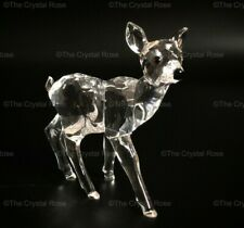 RARE Retired Swarovski Crystal Fawn Deer Standing 235045 Mint Boxed