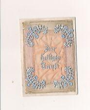 Nr 14790  Seide Billet Zur heilige Taufe 1904