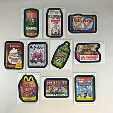 WACKY PACKAGES ALL NEW SERIES 11 (Topps/2013) Complete MAGNET Chase Card Set 10