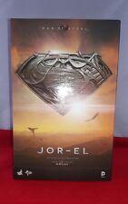 1/6 Hot Toys The Man Of Steel Jor-EL MMS201 Empty Box *US Seller*