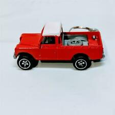 Hot Wheels New for 2019 HW Hot Trucks Land Rover Series III Red Diecast Keychain