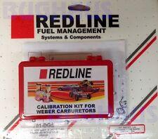 Redline Weber Carburetor 38 Outlaw Jet Pack DGES, DGAS, DGS, 701-DGS FREE SHIP!