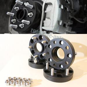 25mm Thick Wheel Spacers Adaptor 5x114.3 5x4.5 Hub Centric 67.1 Stud 12x1.5 4pcs