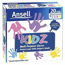 Ansell Kidz Latex Disposable Gloves 20 Pack