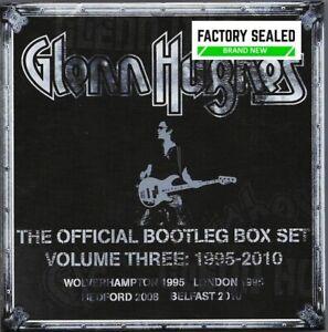 Glenn Hughes – The Official Bootleg Box Set Vol 3 1995-2010 6 x CD Box Set NEW