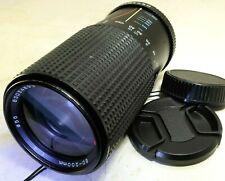 Tokina 80-200mm f4.0 RMC II manual focus for Contax Yashica C/y (w/ haze)