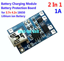 5V Mini Usb 1A 18650 Lithium Battery Charging Board Charger Module w/ Protection