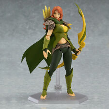 Dota 2 Ti6 2016 Secret Shop Exclusive Figma Windranger Windrunner Figure w/Code