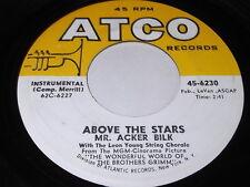 Mr. Acker Bilk: Above The Stars / Soft Sands 45