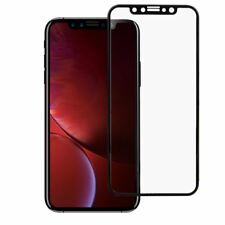 3D CURVED FULL TEMPERED GLASS LCD SCREEN PROTECTOR BLACK FOR iPHONE 11 XR