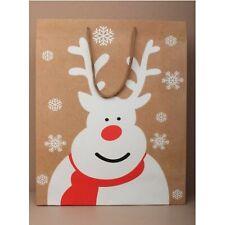 12 reindeer small christmas gift bags