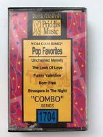 Priddis Music Pop Favorites You Can Sing (Cassette)