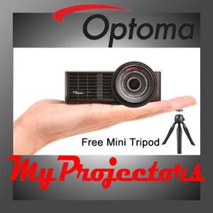 OPTOMA ML1050ST+ MINI PROJECTOR ULTRA PORTABLE 1000 Lumens FREE TRIPOD