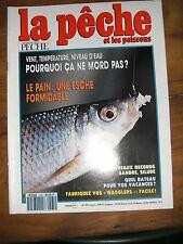 La pêche et les poissons N° 565 vent température pourquoi ça mord pas pain