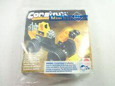 Vintage Mattel 1998 Mini Bulldozers construction bob Cat model building system