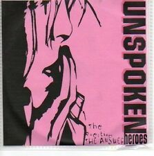 (945A) Unspoken Heroes, The Question The Answer - DJ CD
