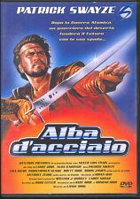 ALBA D'ACCIAIO - DVD (USATO OTTIMO) PATRICK SWAYZE