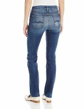 7 Seven For All Mankind Jeans Kimmie Straight Leg in Destroyed Rue De Lille 27