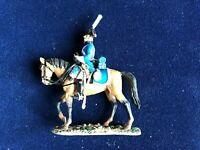 SOLDAT DE PLOMB CAVALIER EMPIRE HOMME DE TROUPE 6è DRAGONS PRUSSE 1806