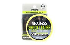 Varivas Fluorocarbon Shock Leader Line Sea Bass 30m 20lb (0786)