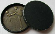 seltene Bronze Medaille Fussball Championship 1922 im Originaletui (141928)