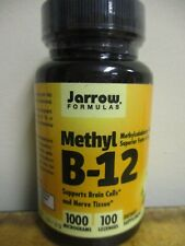 Jarrow Formulas Methyl B-12 1000 milograms 100 Tablets FREE SHIPPING!!! Y77
