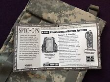 SPEC-OPS H.U.M.P. HYDRATION UTILITY POUCH AIRSOFT, PAINTBALL, SHOOTING BNWT