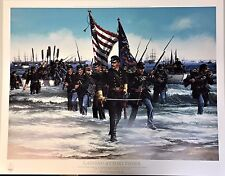 Strain, John Paul-Landing at Fort Fisher-Civil War-Military-Art For Sale