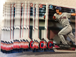 Bryan Lavastida 24 card rookie lot Cleveland Indians