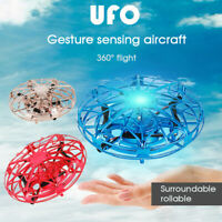 Smart Flying Drone Hand Motion Control UFO Flying Aircraft Toy Men Women Kids