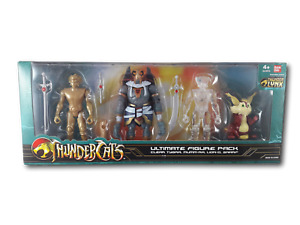 Bandai Thundercats Ultimate Figure Pack Clear Tygra, Mumm Ra, Lion-O & Snarf