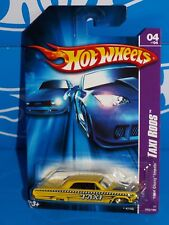 Hot Wheels 2007 Taxi Rods Series #052 1964 Chevy Impala Yellow w/ WSPs