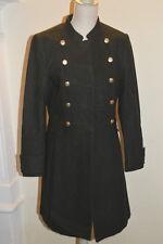 Cappotto verde militare bottoni dorati H M green military coat golden  buttons 17800cac54a