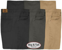 Full Blue Big & Tall Men's 5-Pocket Twill Casual Pants Sizes 44 - 60