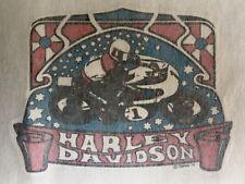 "Original Harley Davidson (MINI 3""x2"") Iron On Transfer RARE NOS"