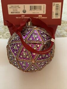 """2016 Waterford Times Square Replica 6"""" Ball Ornament"""
