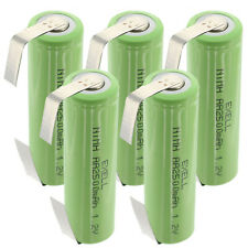 5x Exell AA Size 1.2V Rechargeable 2500mAh NiMH Batteries w/ Tabs FAST USA SHIP