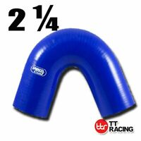 "Silicone 135 Degree Elbow Hose Pipe 57mm 2.25"" 2.25 inch Turbo Air Pipe"
