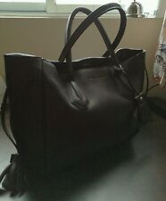 New with tag LONGCHAMP Medium Penolope tote  (color dark brown)