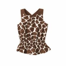 NWT Gymboree Safari Fashion Sleeveless Giraffe Print Top TunicTop Size 11-12