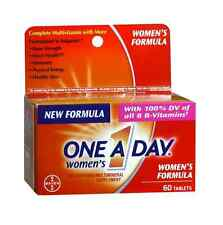 One-A-Day Women's Tablets 60 Tablets (Pack of 3)