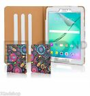 32nd Design Book Case Cover for Samsung Galaxy Tab Tablets + Screen Protector