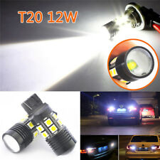 2X T20 7443 12W Cree Q5 Projector 12SMD 7440 LED Reverse Brake White Tail Light